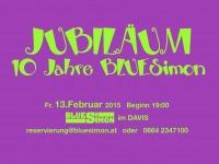 Jubiläum 10 Jahre BLUESimon - Feb. 2015