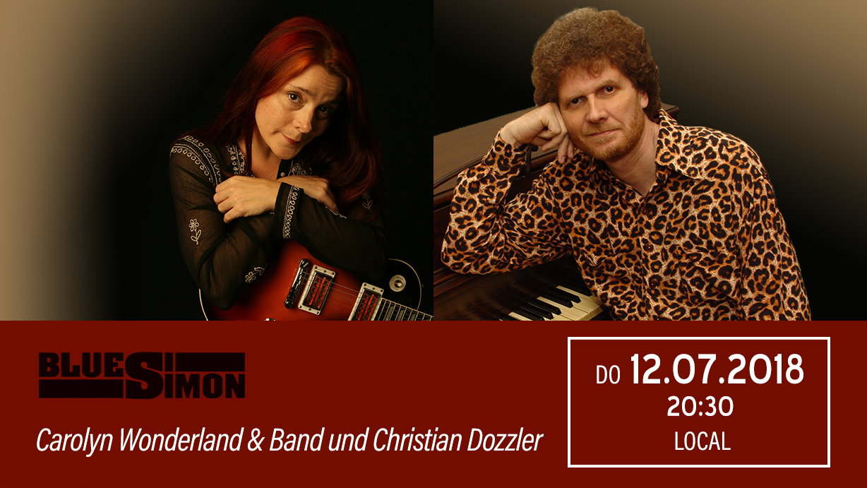 12.07.2018 - Carolyn Wonderland Band & Christian Dozzler