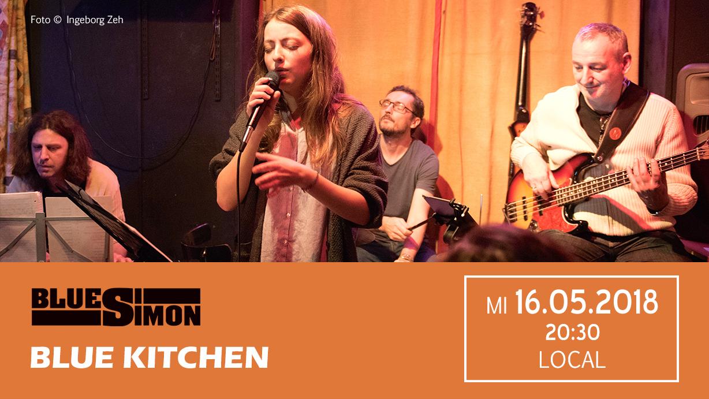 16.05.2018 - Blue Kitchen