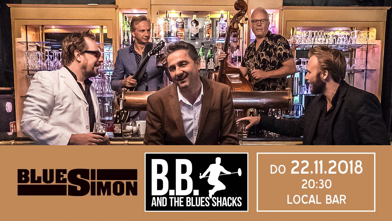 22.11.2018 - B.B. & The Blues Shacks